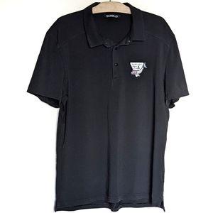 Arc'teryx polo shirt L golf black branded
